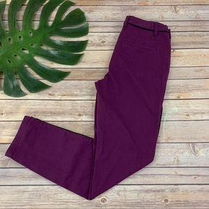 Modcloth plum purple skinny pants